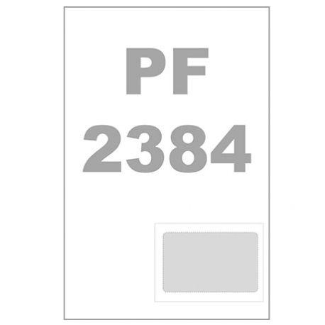 Carte membre intégrée - 85 x 54 mm -plastifiée