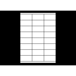 Planche A4 étiquettes 70 x 35 mm