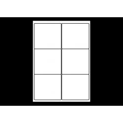 Planche A4 étiquettes 99 x 93,1 mm