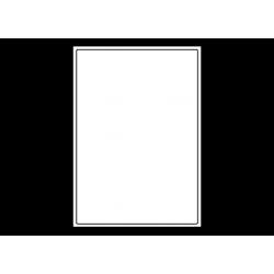 Planche A4 étiquettes 199,6 x 289,1 mm