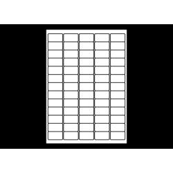 Planche A4 étiquettes 38,1 x 21,2 mm