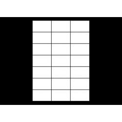 Planche A4 étiquettes 70 x 42,3 mm