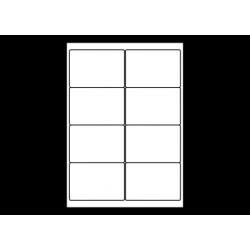 Planche A4 étiquettes 99 x 67,7 mm