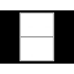 Planche A4 étiquettes 199,6 x 143,5 mm