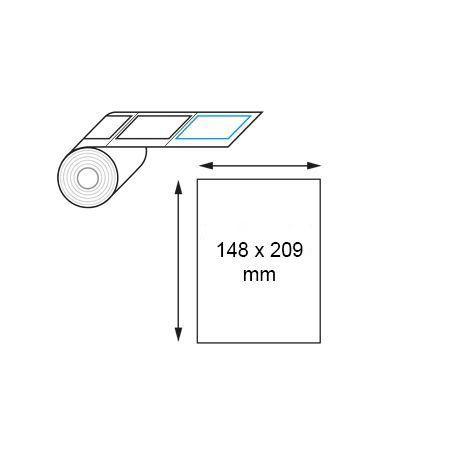 Étiquette logistique thermique direct 148 x 209 mm en rouleau