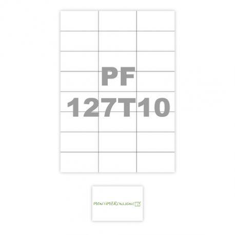 Populaire Planche Etiquette autocollante A4 : étiquettes adhésives à imprimer XI56