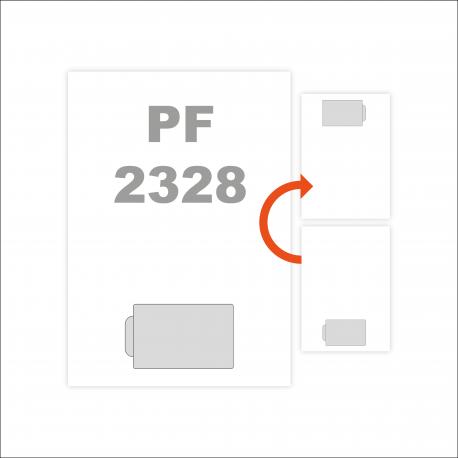 A4 Carte adhérent intégrée plastifiée BRILLANT procédé TIRE-CARTE